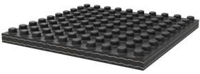 Ballast-Lok® Rubber Ballast Mats