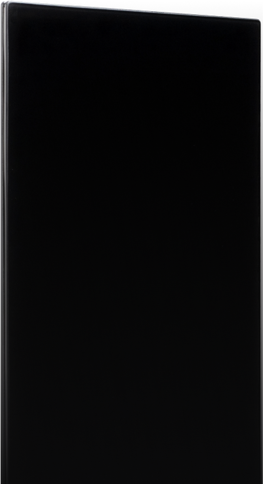 Solus heater black