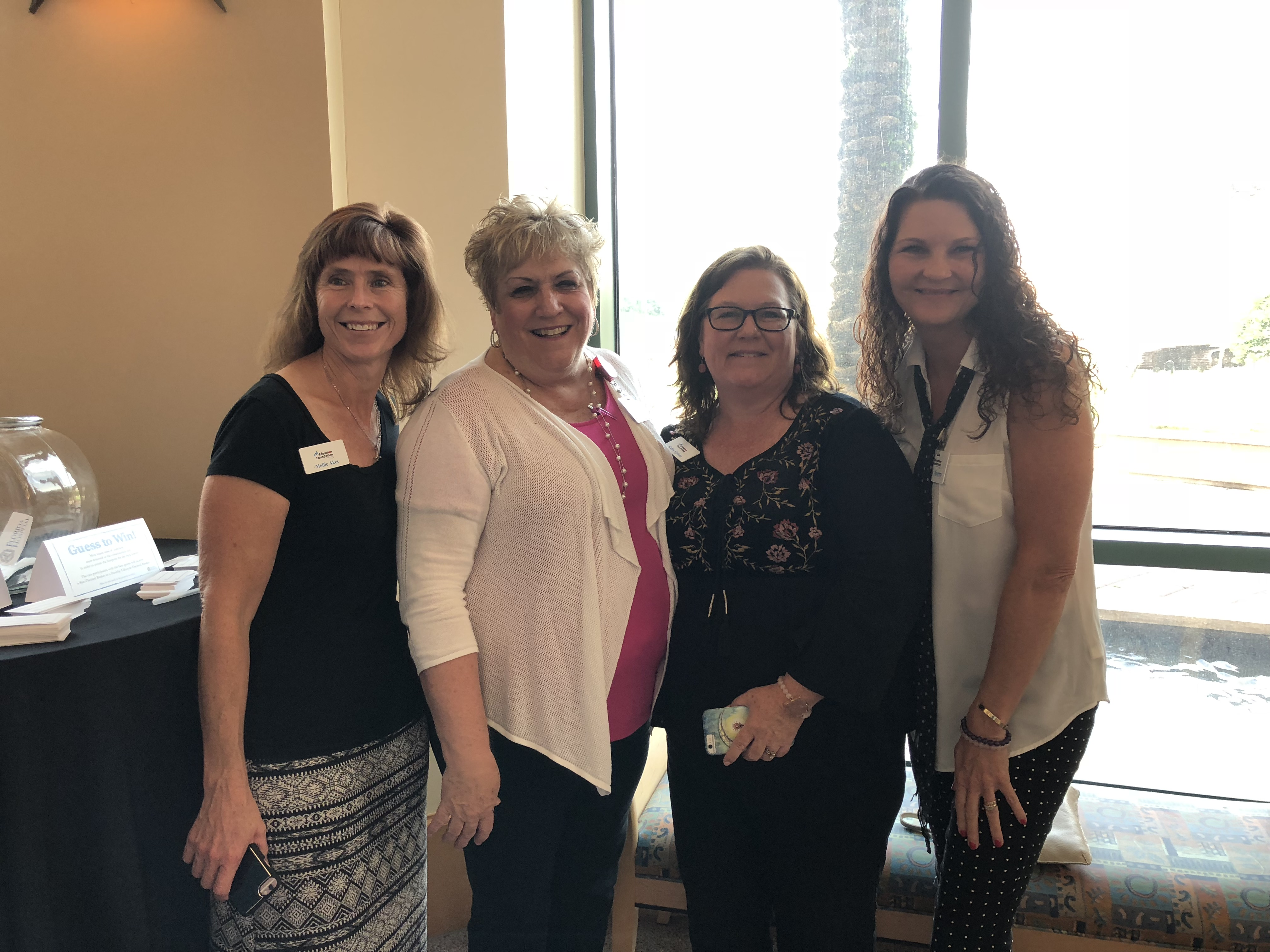 Picture of staff members at an event.