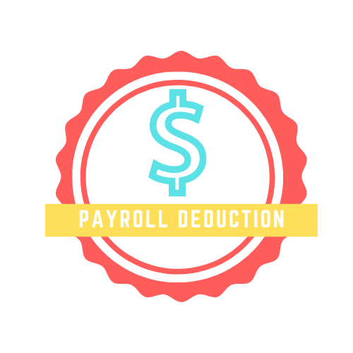 Payroll deduction logo