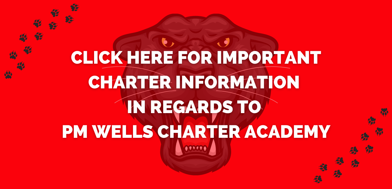 PM Wells Charter Academy link image for important information