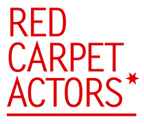 Red Carpet Actors logo.