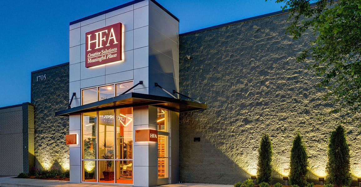 hfa bentonville exterior architecture and engineering