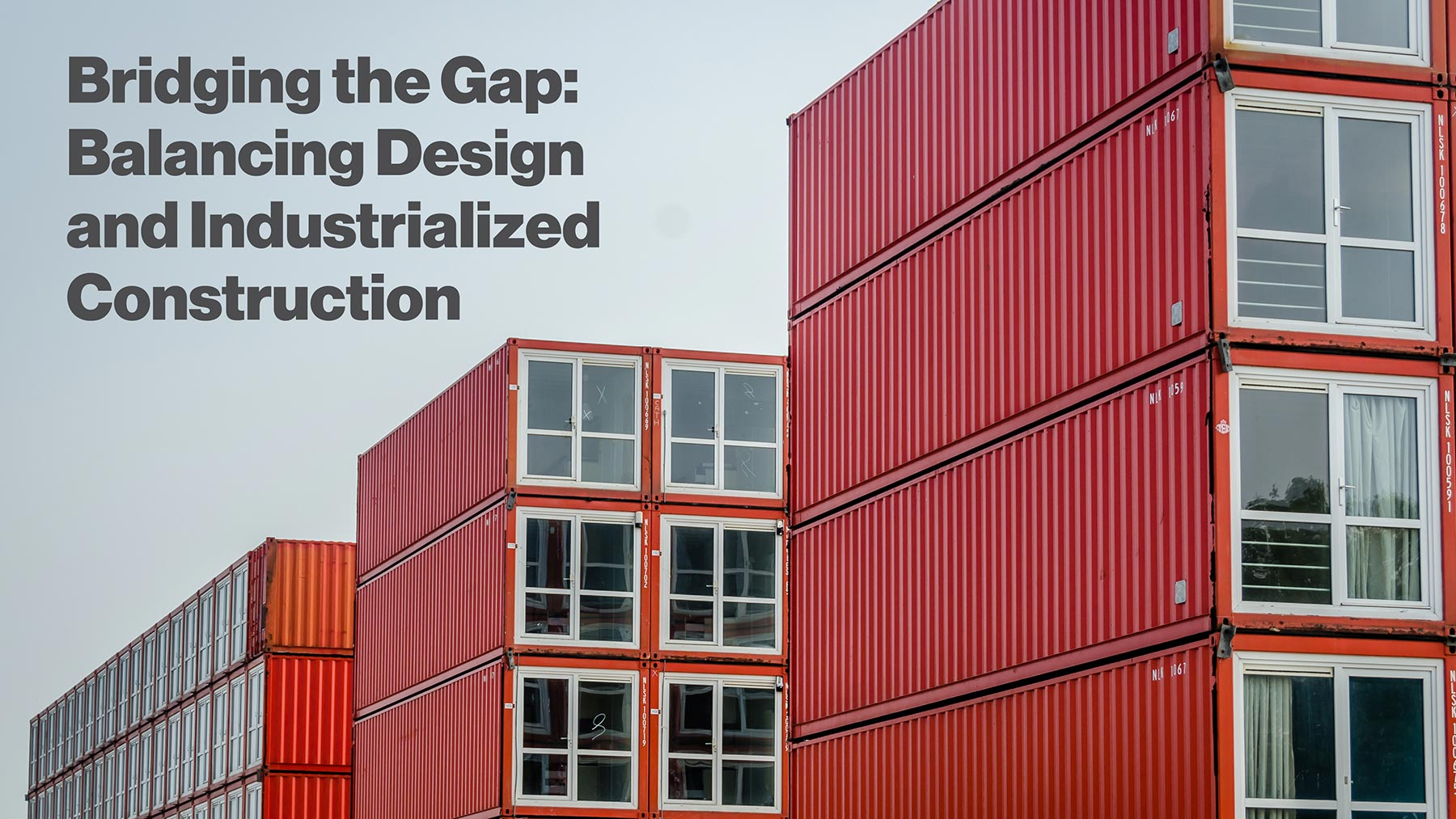 [White Paper] Bridging the Gap: Balancing Design and Industrialized Construction