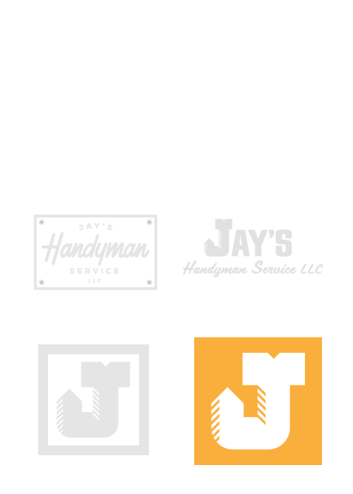 Jay's Handyman logo process