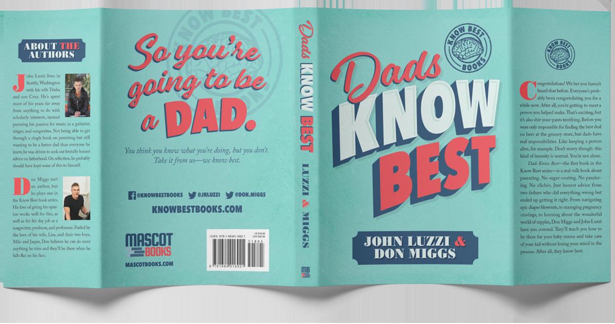 Dads Know Best jacket mockup