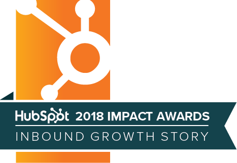 Hubspot Impact Awards Badge
