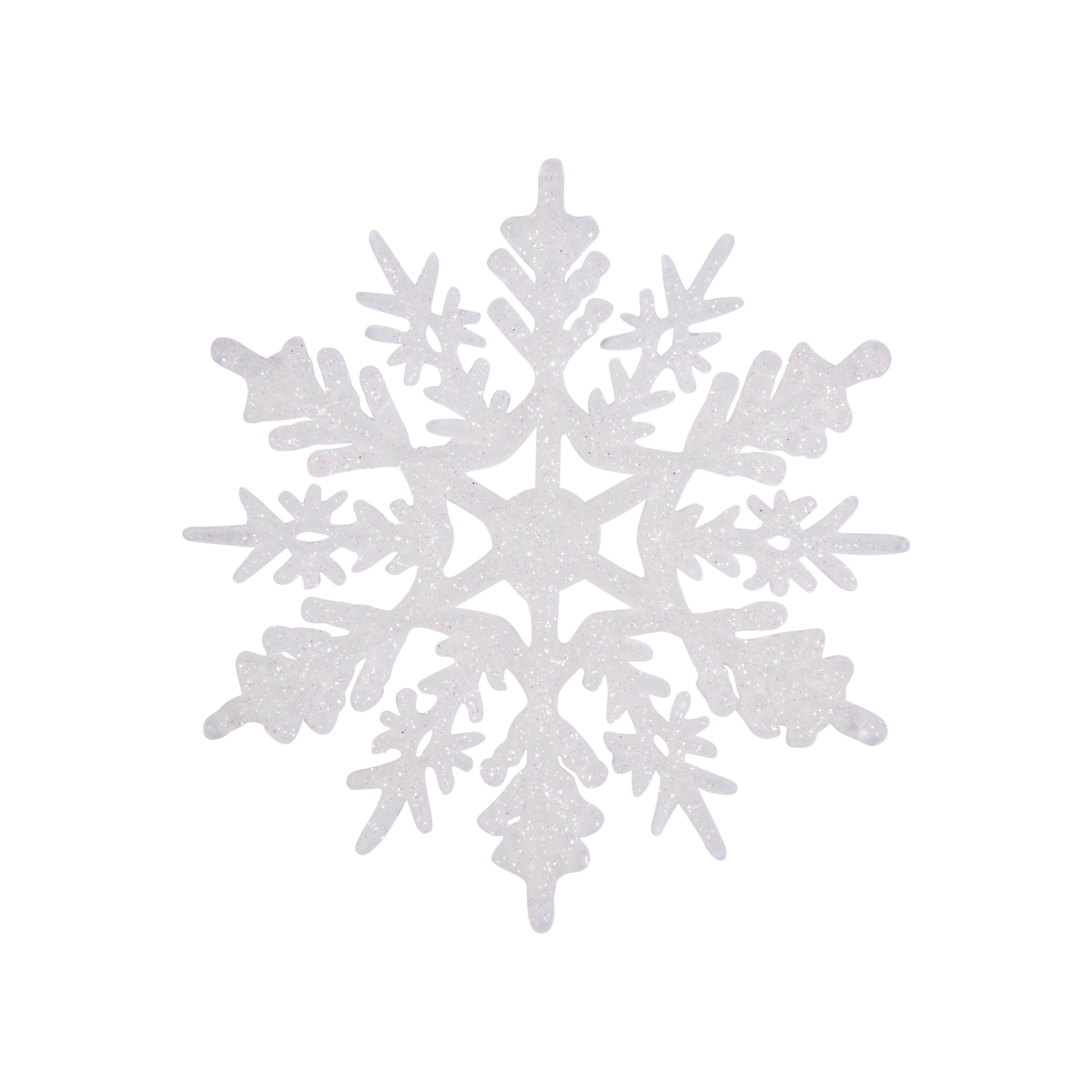 4in Sparkly Snowflake Ornament
