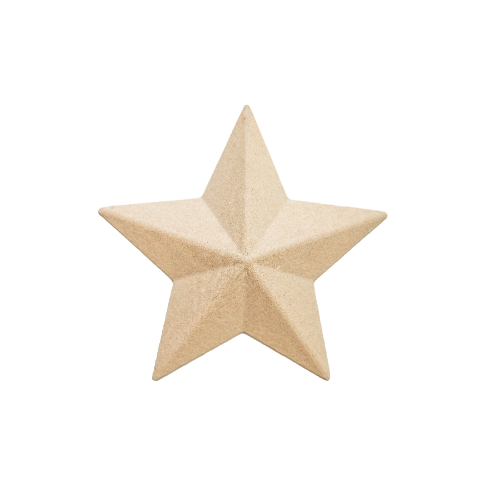 7in Paper Mâché Star