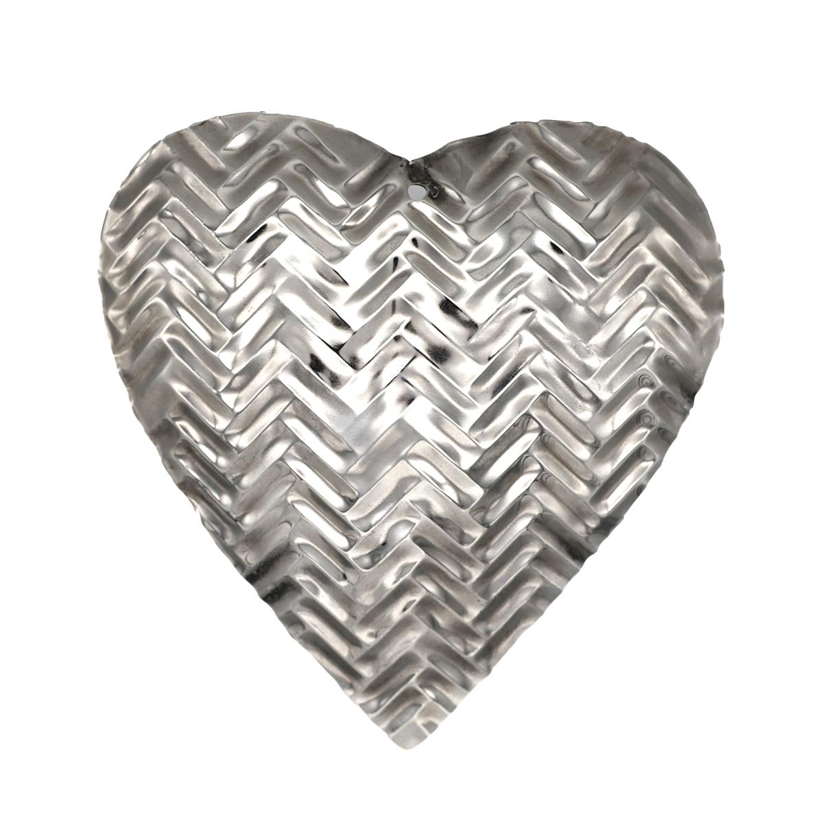 5in Decorative Metal Heart