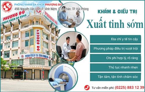 Khám xuất tinh sớm ở đâu tại Quảng Ninh