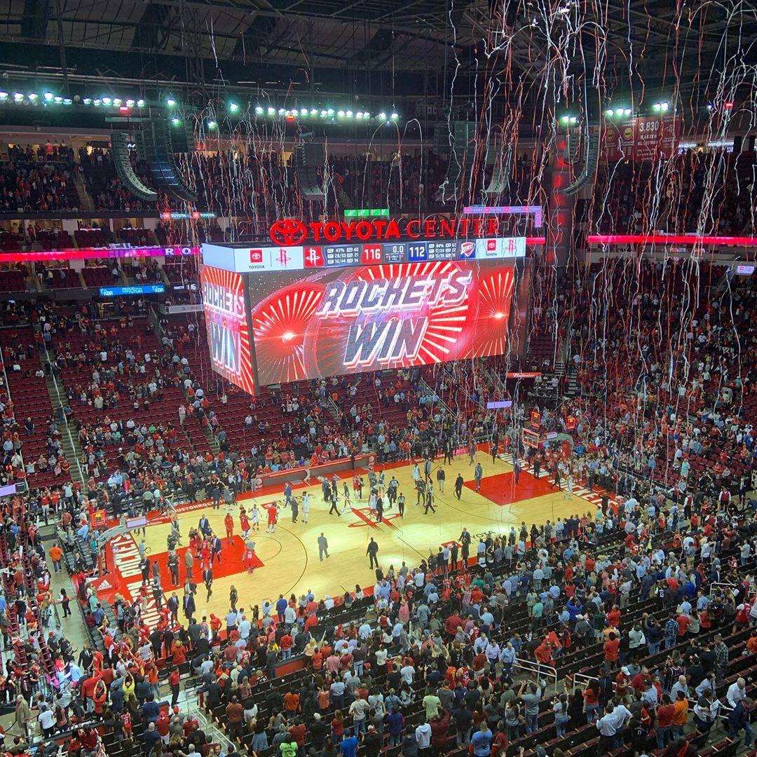 Rockets Win!