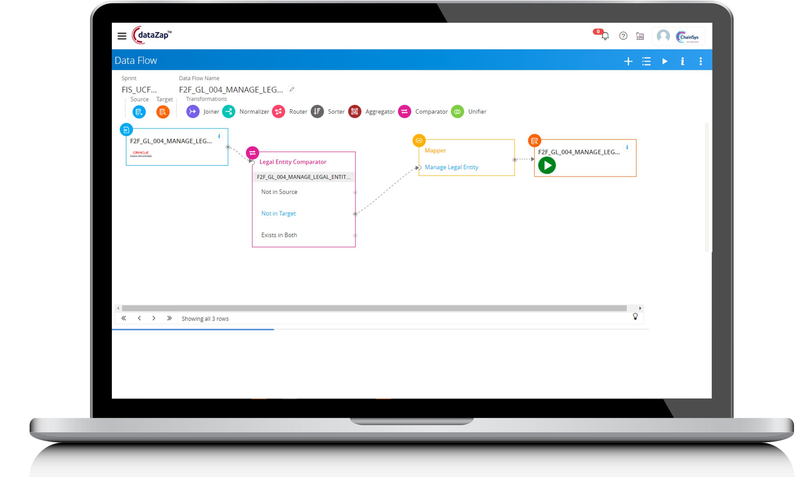 Oracle Setup Migration