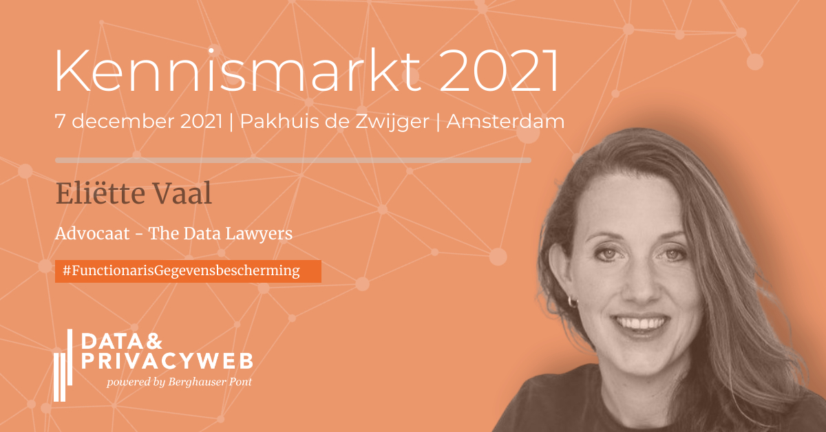 Workshop on the role and responsibilities of the DPO at the Kennismarkt Data&Privacyweb 2021