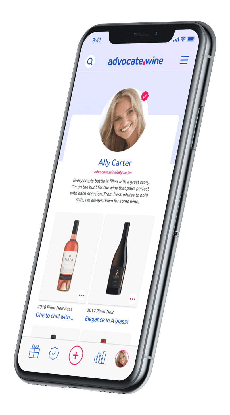 advocate.wine app right