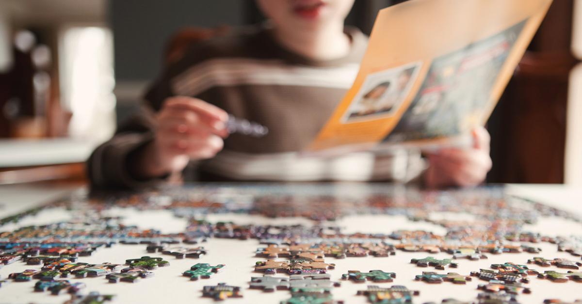 indoor activities puzzles