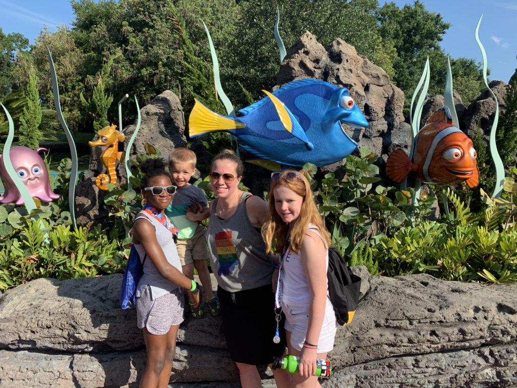 Coffman Family at Disney