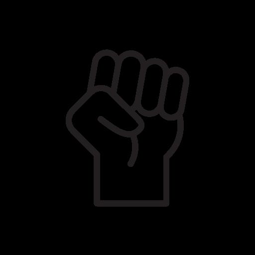 Empowerment fist icon