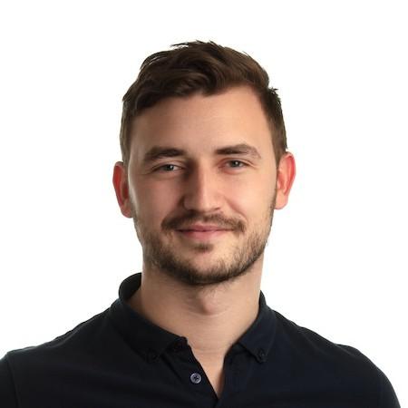 CBO firmy Skladon Patrik Babinec, který je jedním ze spoluzakladatelů. Také má na starosti business development.
