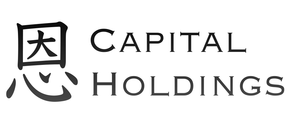En Capital Holdings logo in black colour