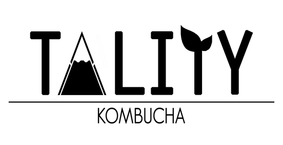 Logo of Tality Kombucha in Vancouver, BC.