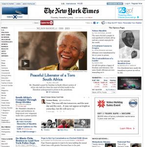 Madiba NY Times
