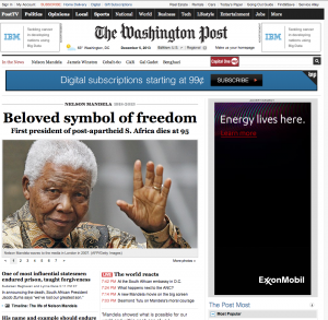 Madiba Washington Post