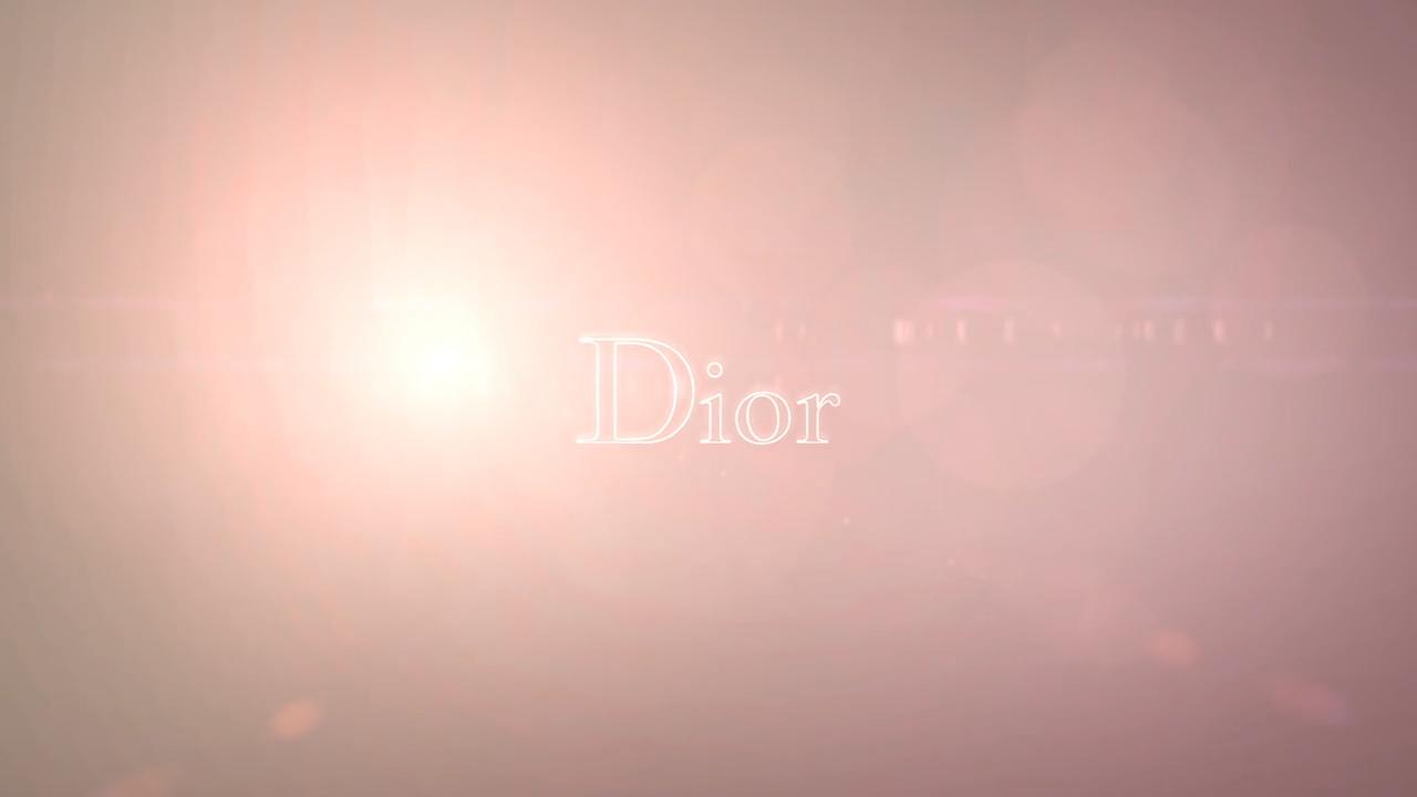 Dior Backstage création d'e la vidéo coulisse pour le nouveau défilé.