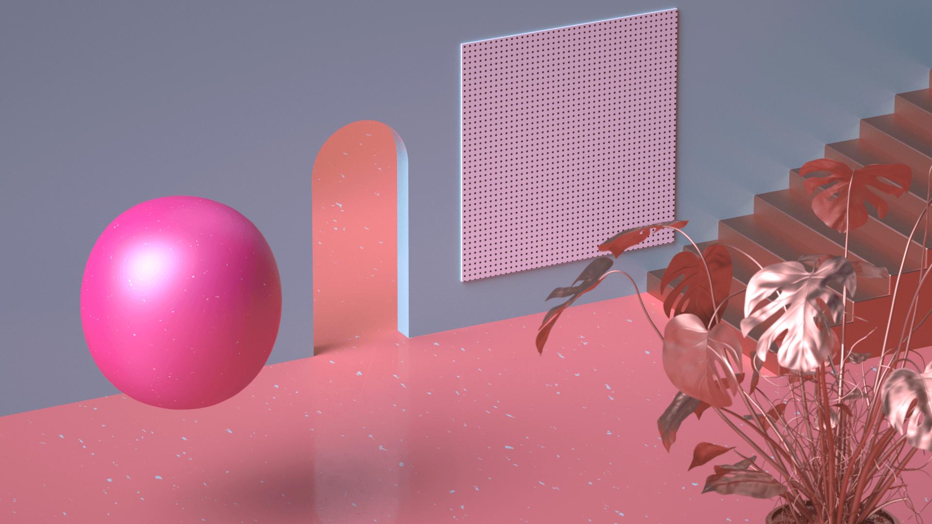 Création d'un key visuel pour une moodtape en motion design.