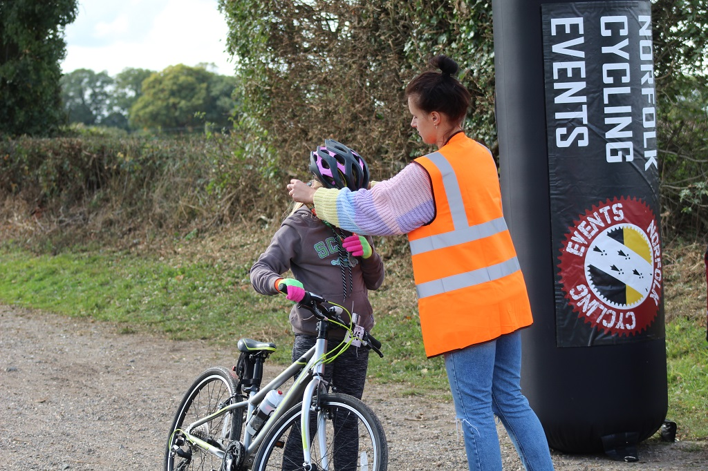 WORKING WITH US - NORFOLK CYCLING EVENTS