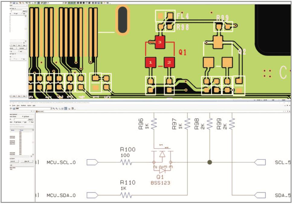 Быстрый просмотр и сравнение проектов в PollEx PCB Modeler