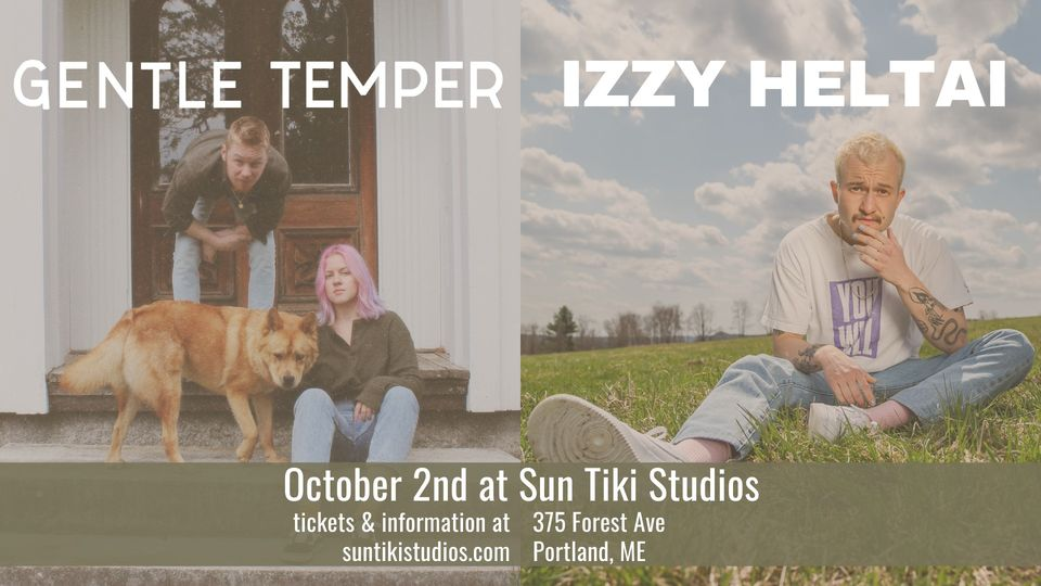 Gentle Temper with special guest Izzy Heltai