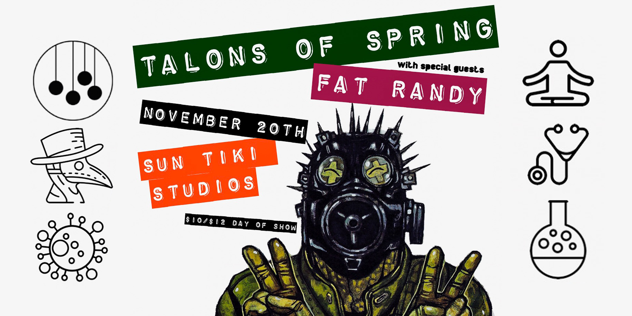 Talons of Spring with Fat Randy