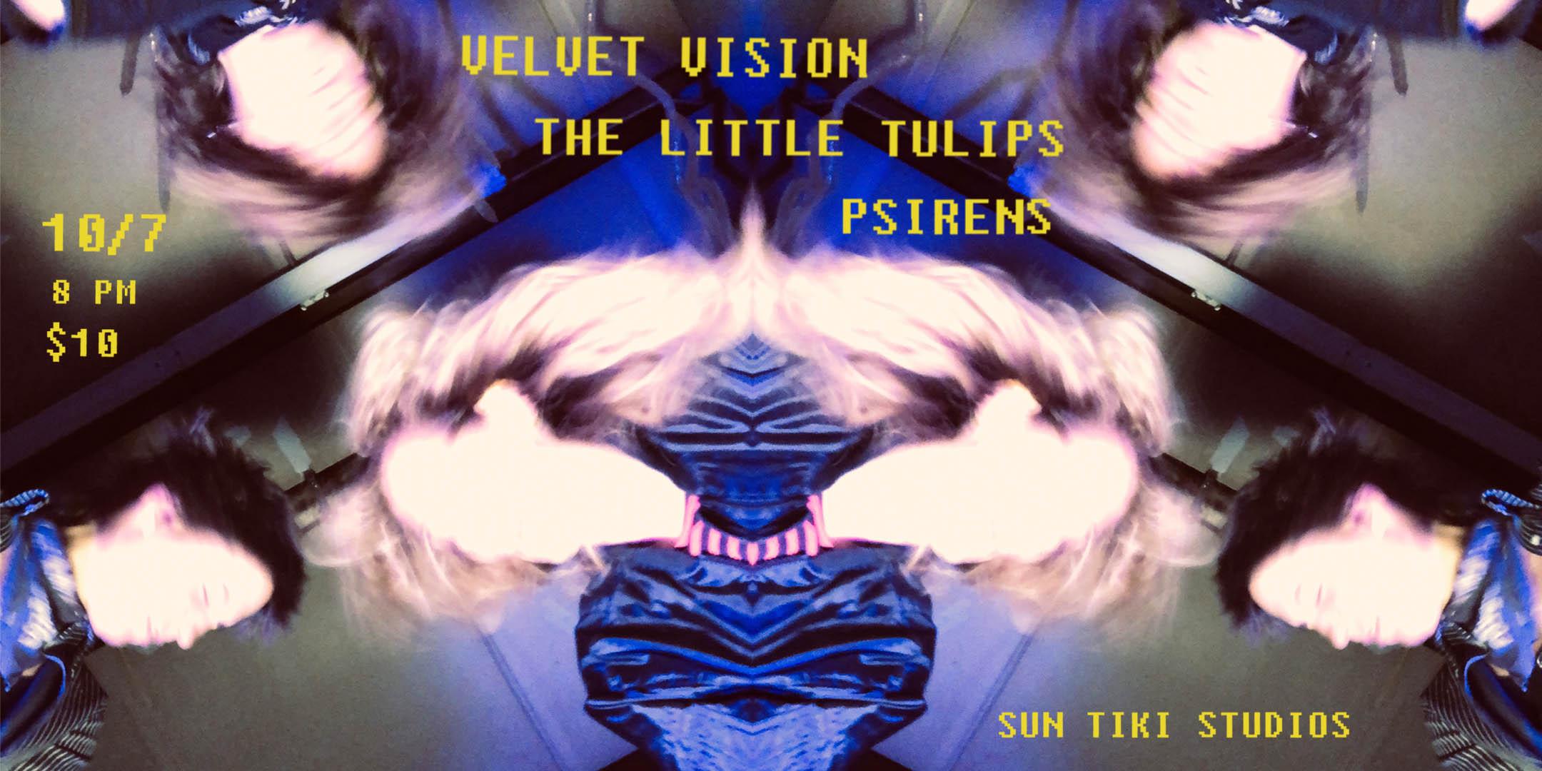 The Little Tulips with Velvet Vision & Psirens