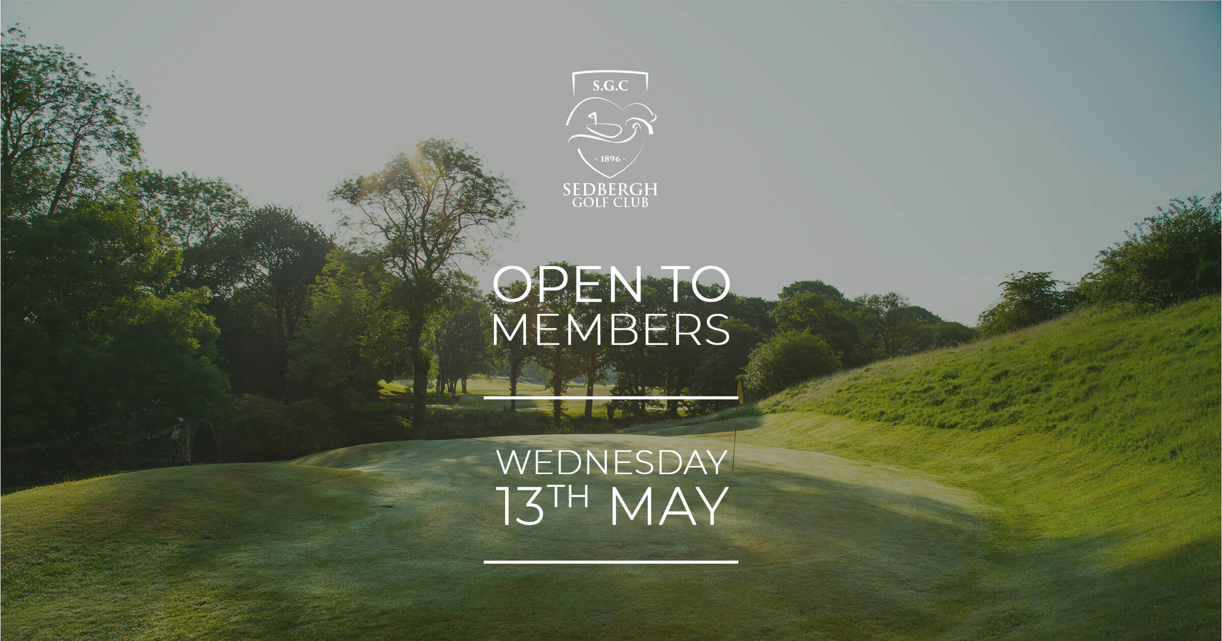 We're pleased to be able to announce that the golf course will open to members on Wednesday 13th May in line with guidance from England Golf. It is absolutely essential that all members comply with the rules and guidance that we have set so that we can maintain a safe environment for staff and fellow members