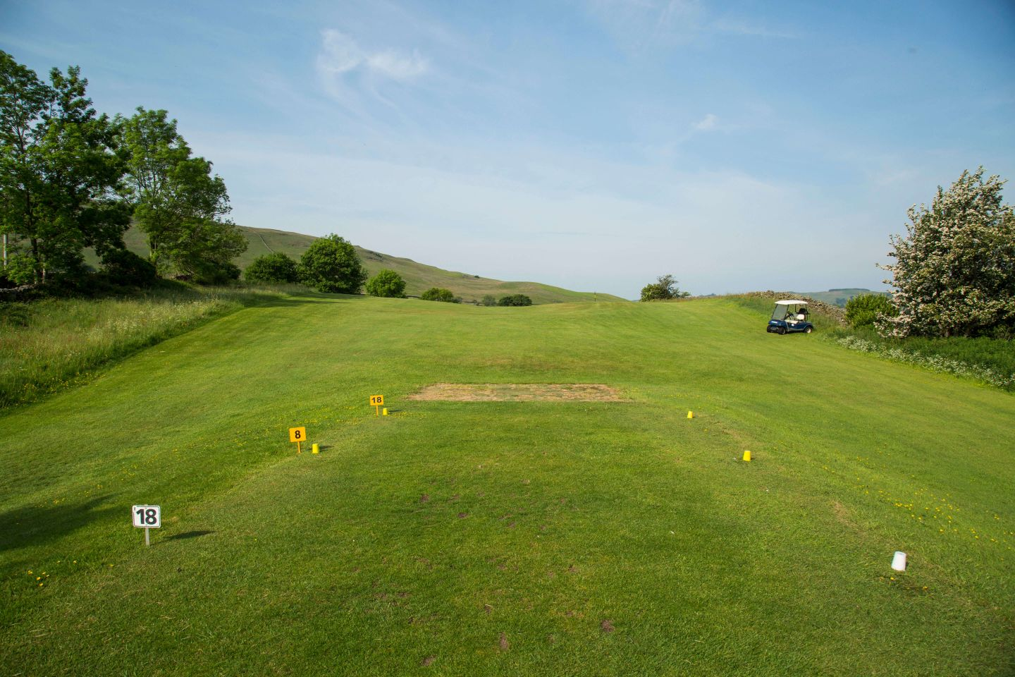 The 8th / 18th Tee