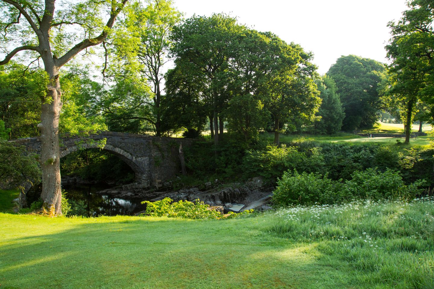 The river Dee must be carried on the 2nd and 11th holes