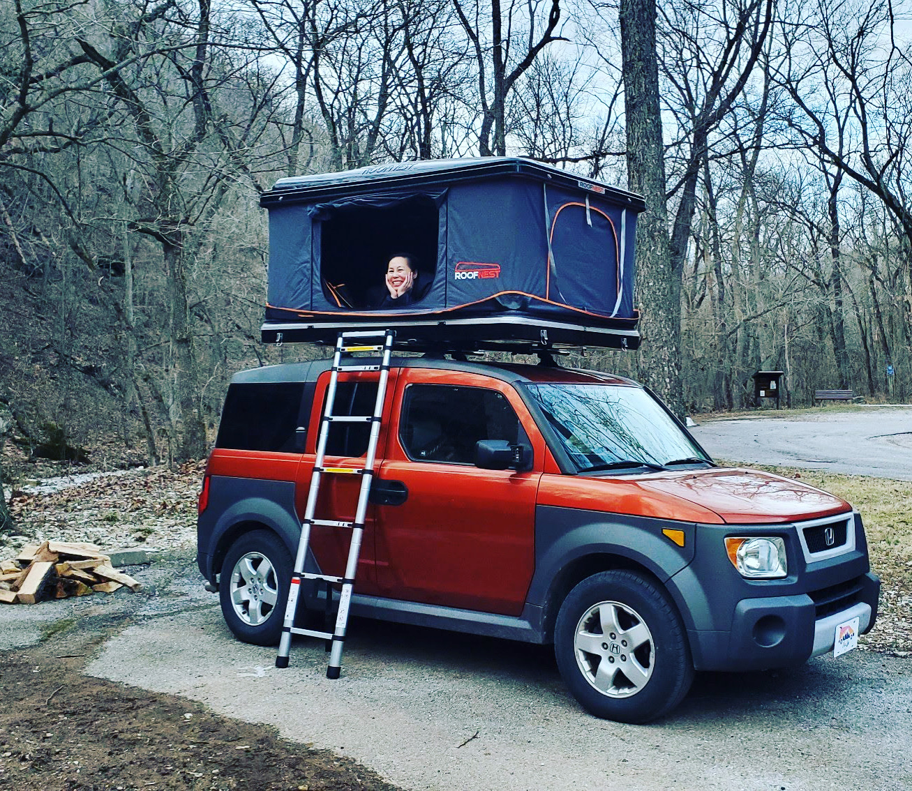 New Rooftop tent