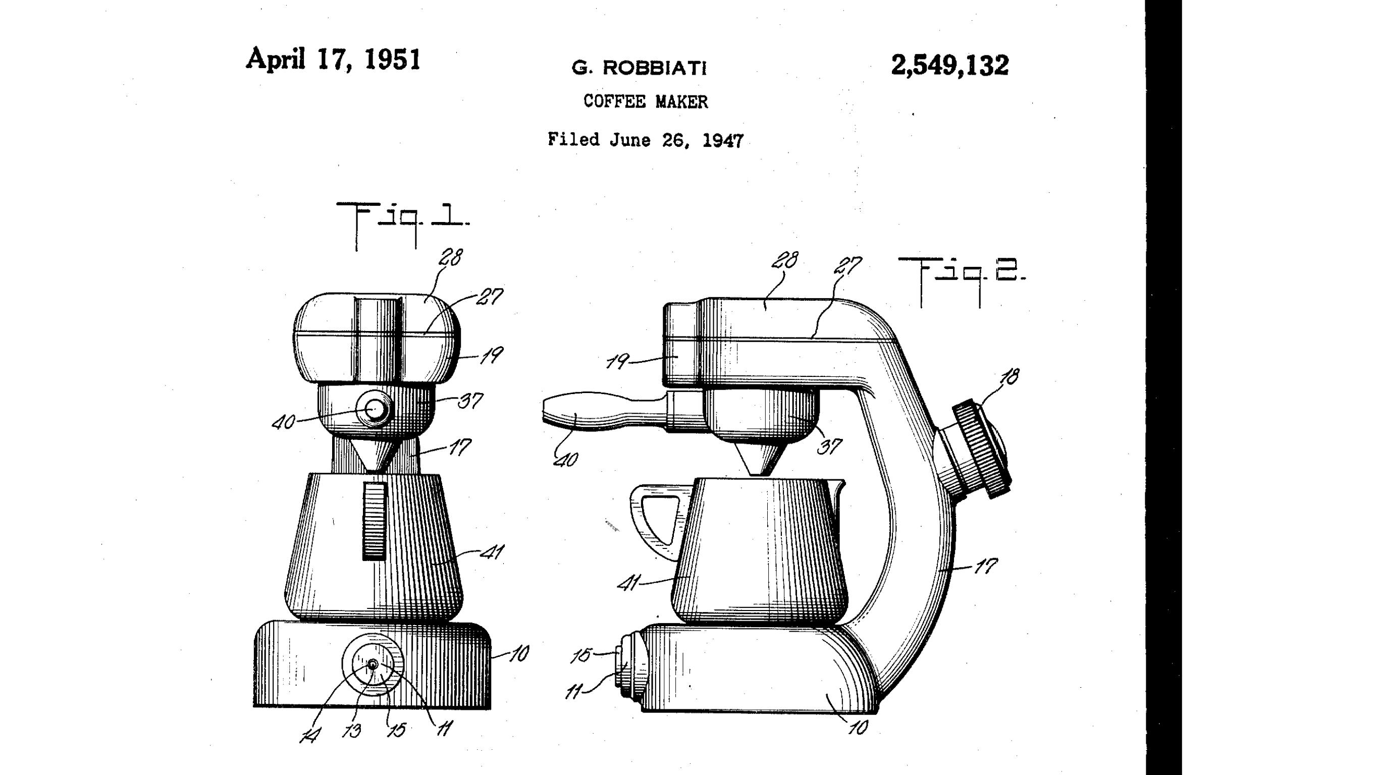 Atomic coffee maker