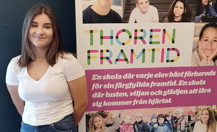 Motiverad Cornelia ser framemot gymnasiet och skapa nya äventyr och mål