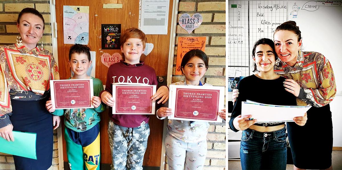 Dikttävling lockar rekordmånga elever