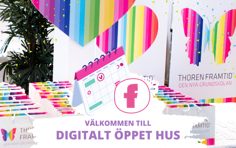 Digitalt öppet hus på Facebook
