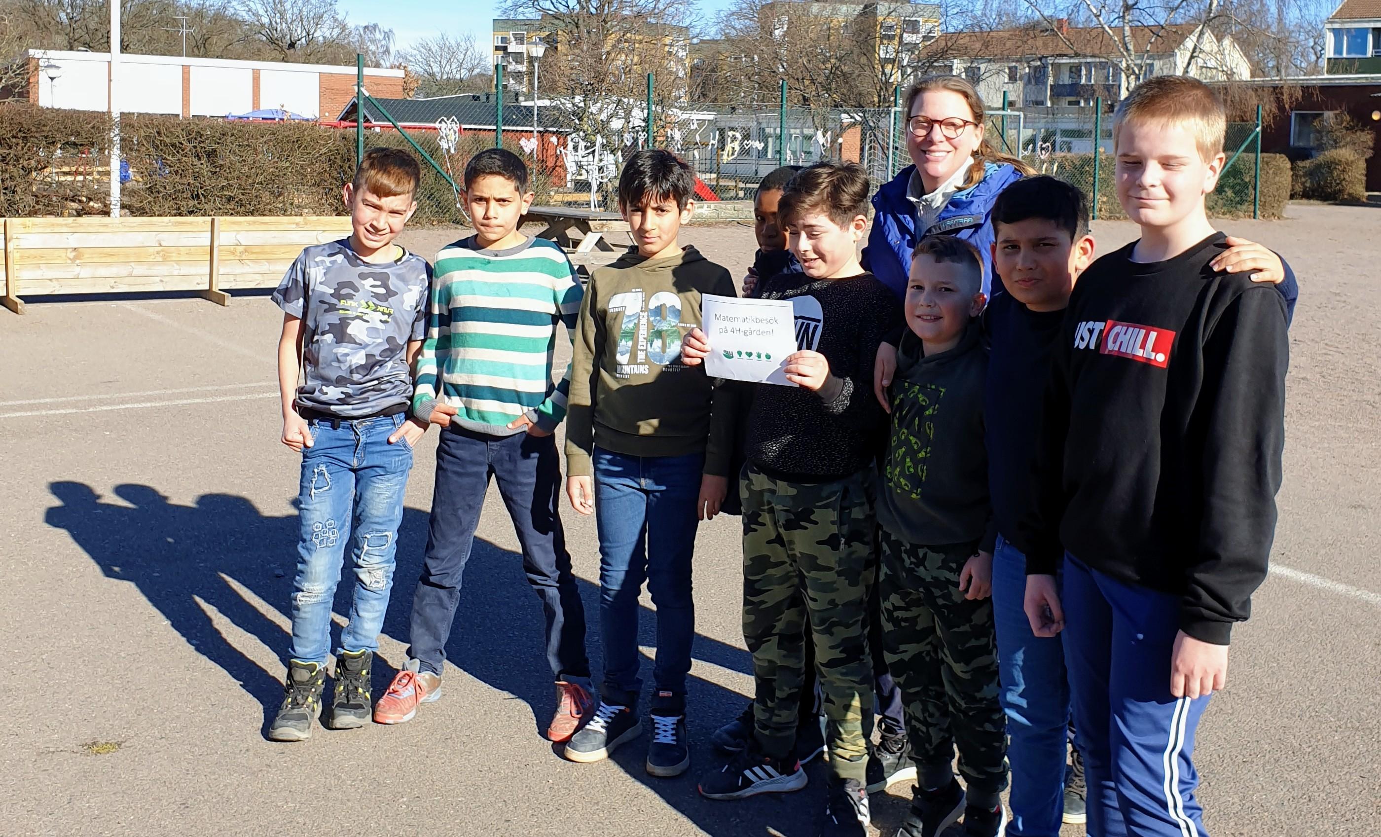 Pop-up School: Därför lär sig eleverna matematik på en bondgård