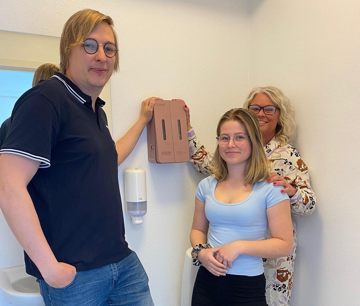 Tildas debattinlägg var startskottet – nu erbjuder Thoren Framtid i Hässleholm gratis mensskydd till eleverna