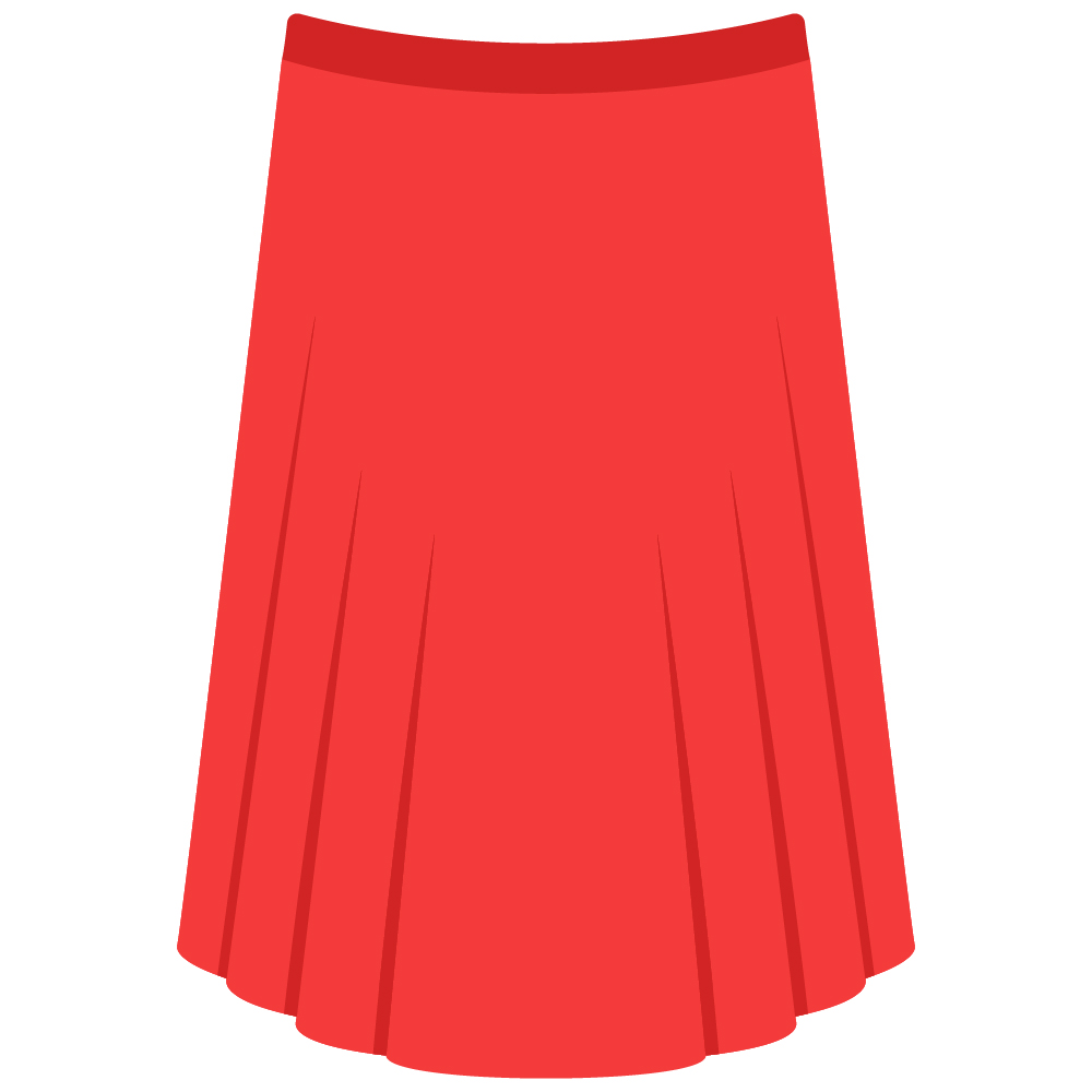 Pleated Skirt Dry Cleaned