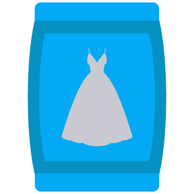 Water Resistant Bridal Dress Cover