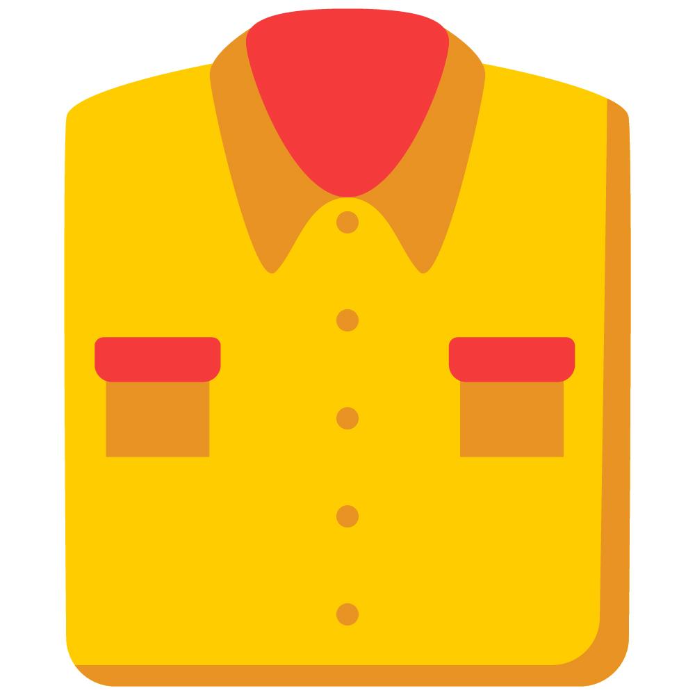 Folded Shirt Washed & Ironed