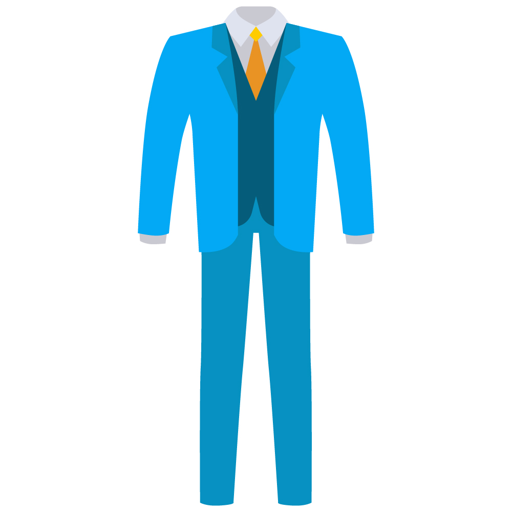 3 Piece Suit Dry Cleaned