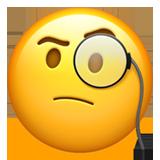 smiley réfléchit emoji