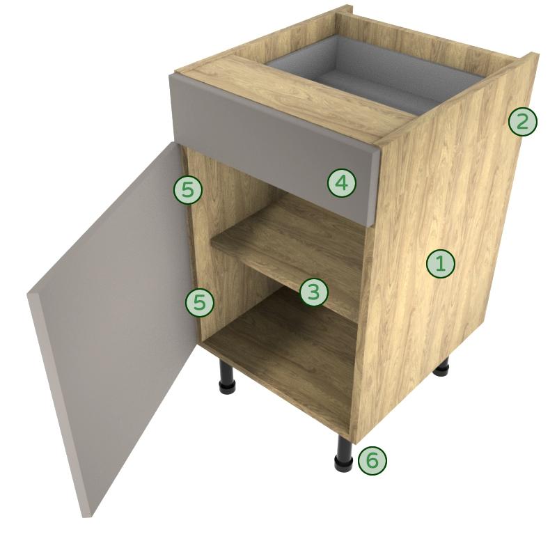 KITCHEN forte cabinet spec image